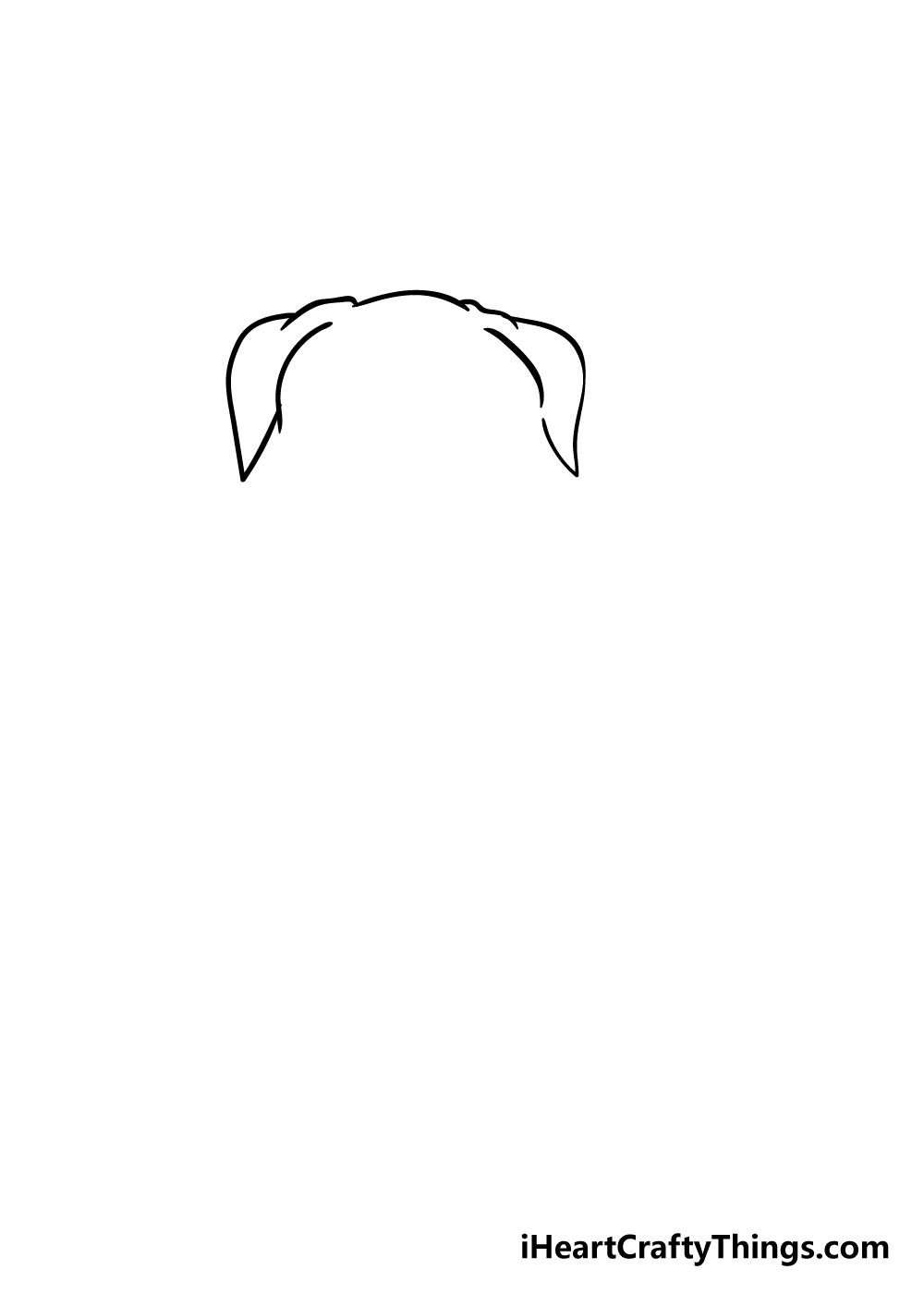 pitbull drawing step 1