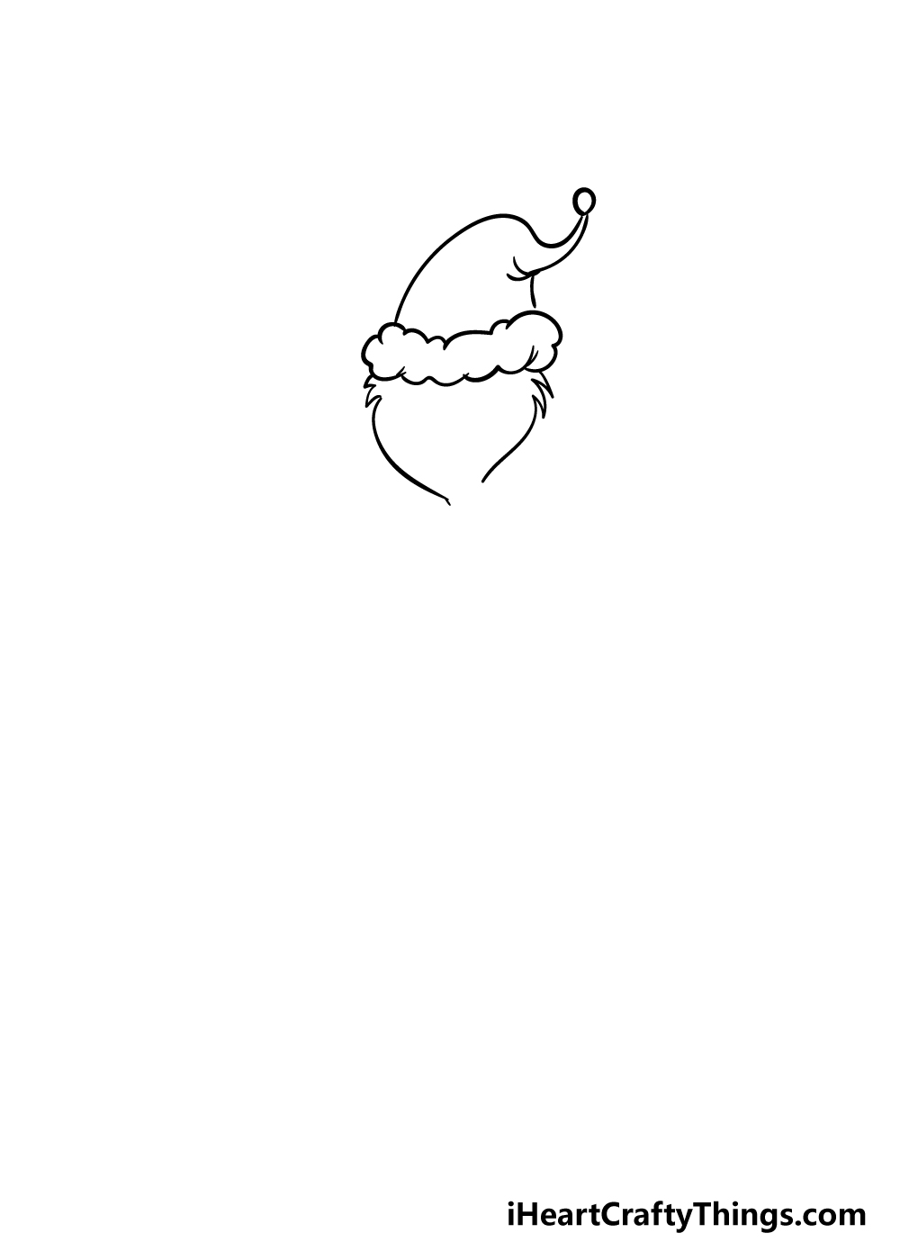 grinch drawing step 2