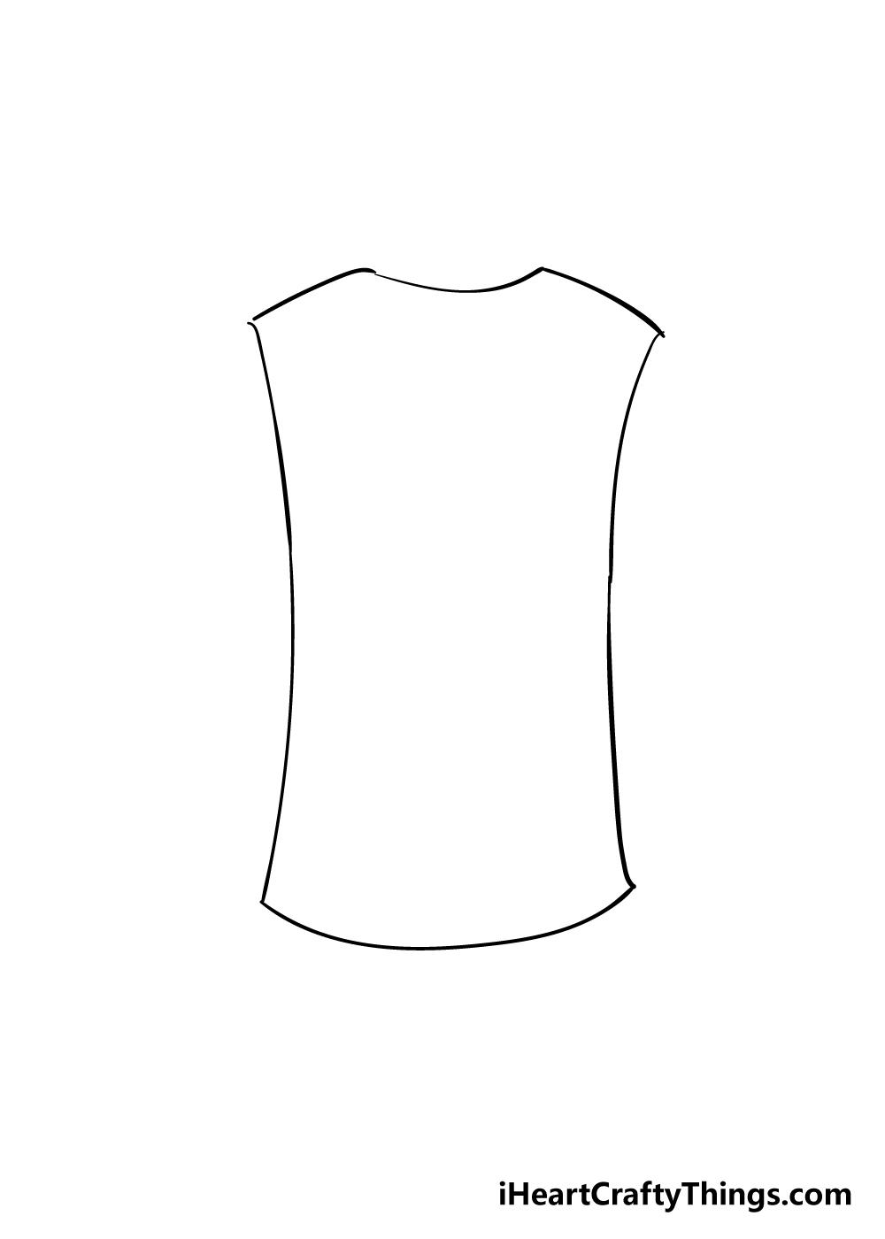 shirt drawing step 2