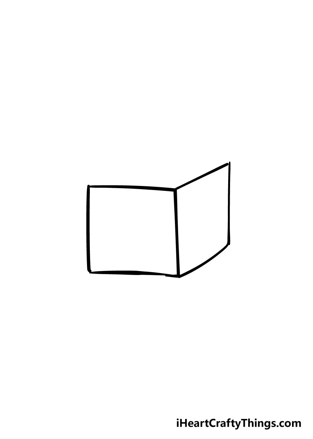 box drawing step 2