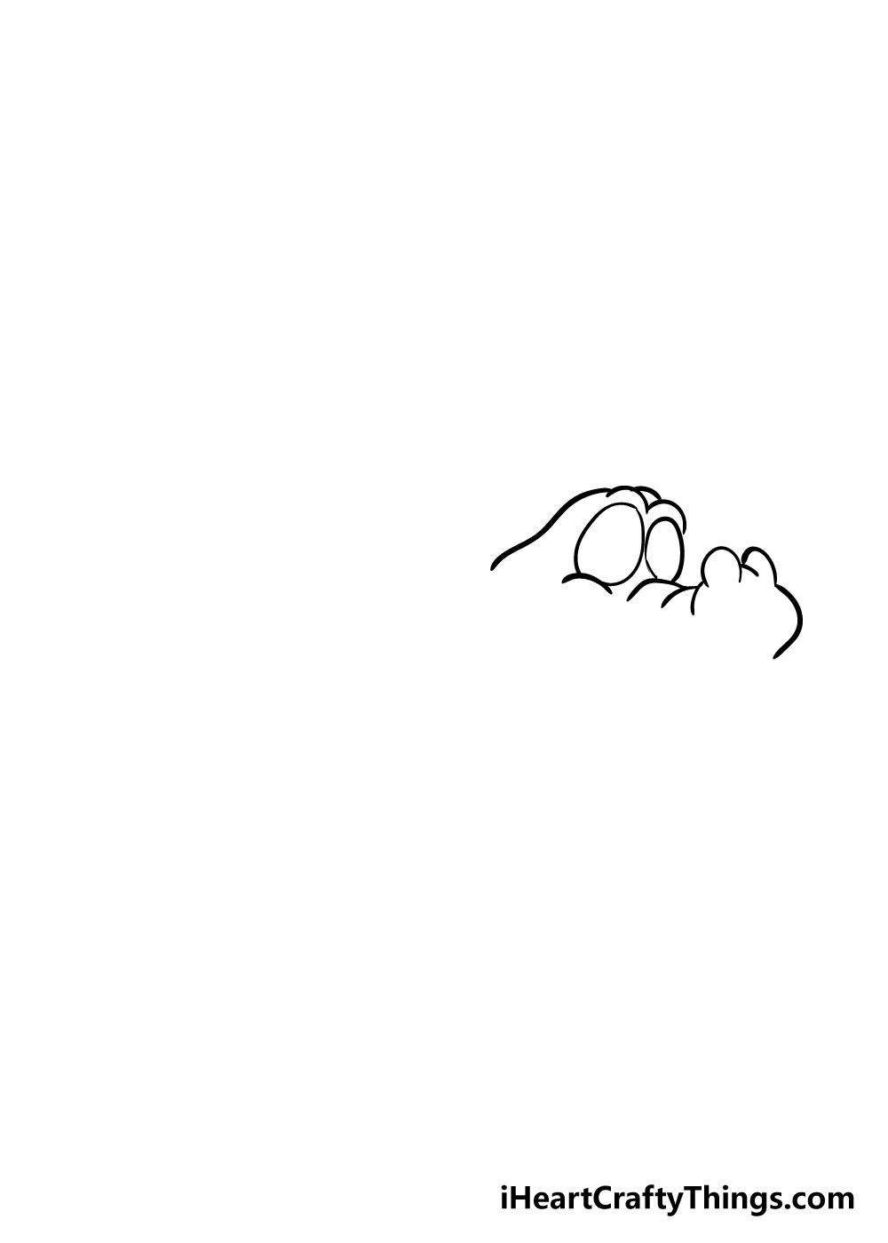 crocodile drawing step 2