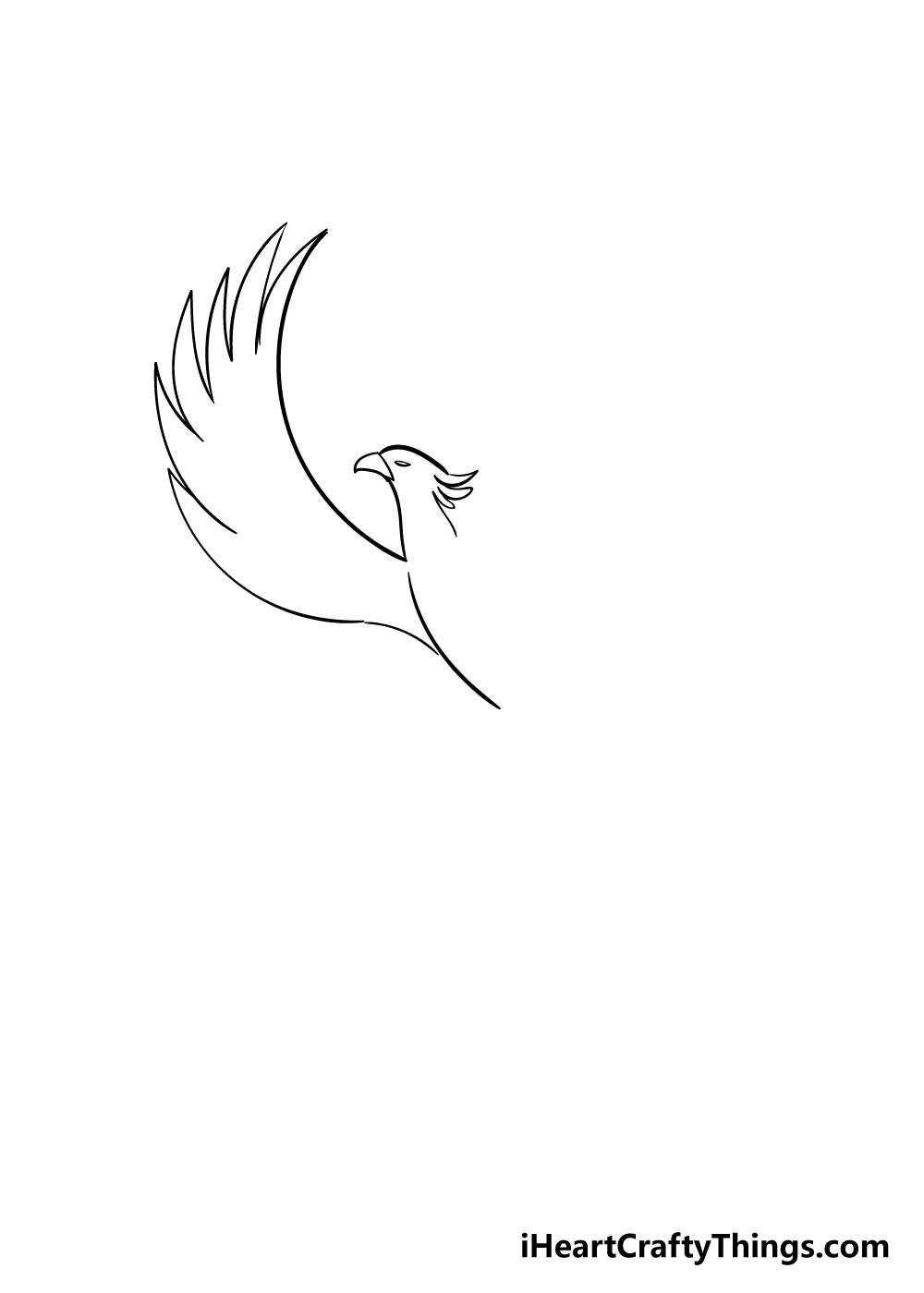 phoenix drawing step 2