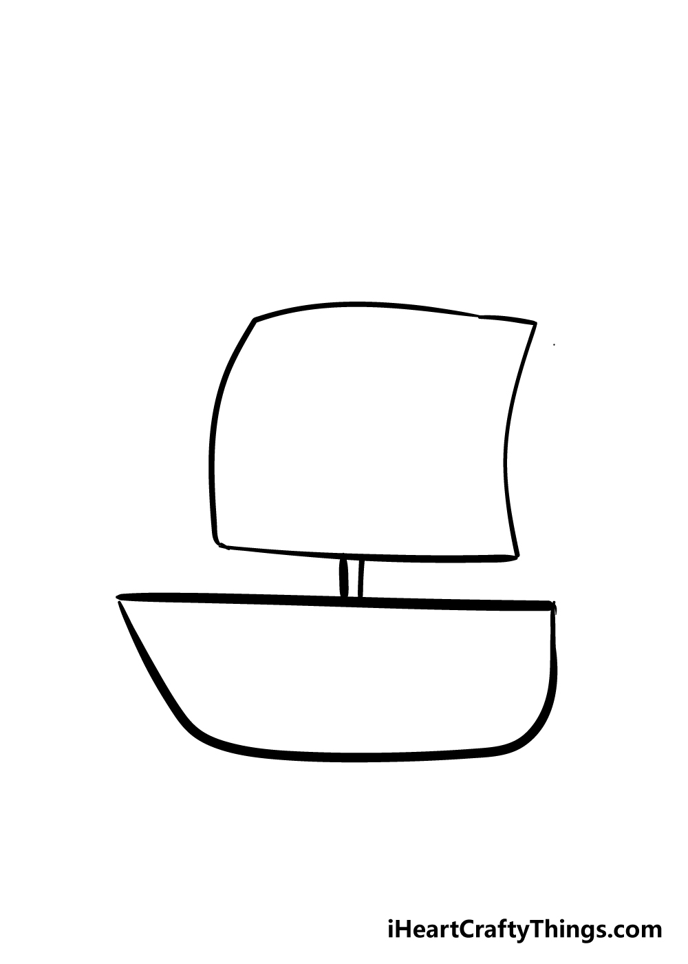 boat drawing step 3