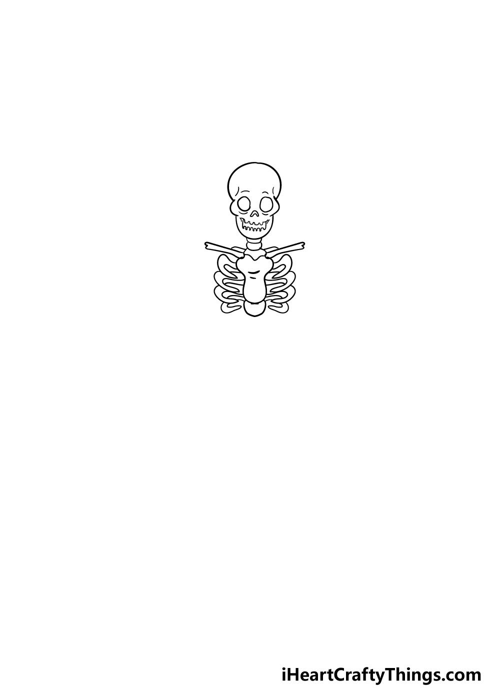 skeleton drawing step 3
