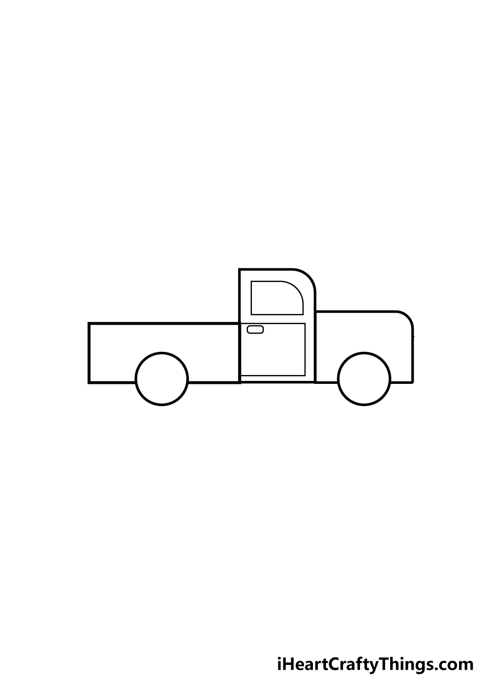 truck drawing step 3