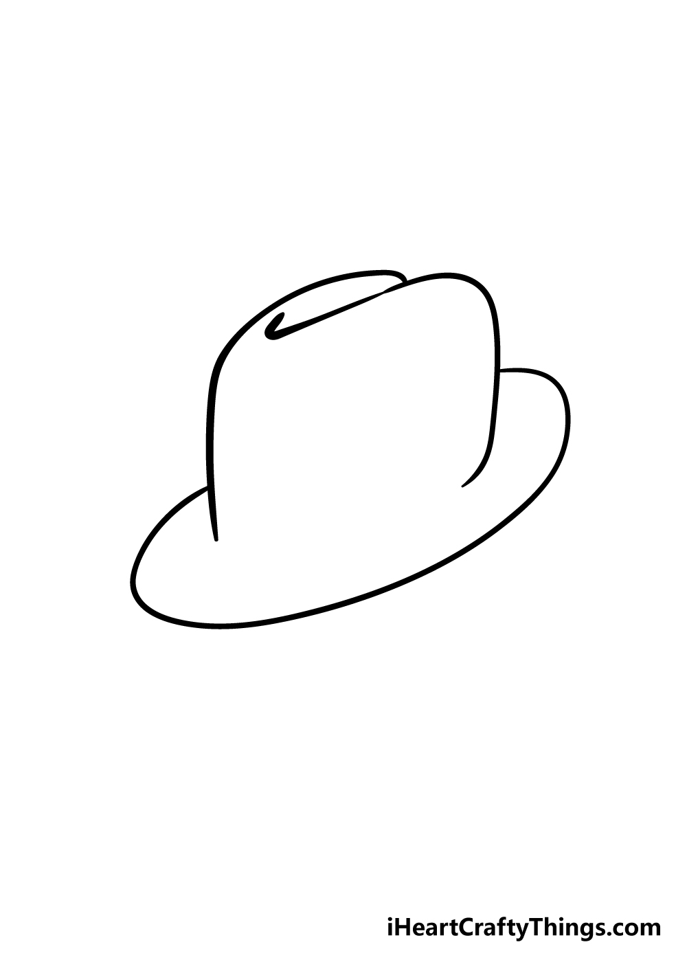 hat drawing step 3