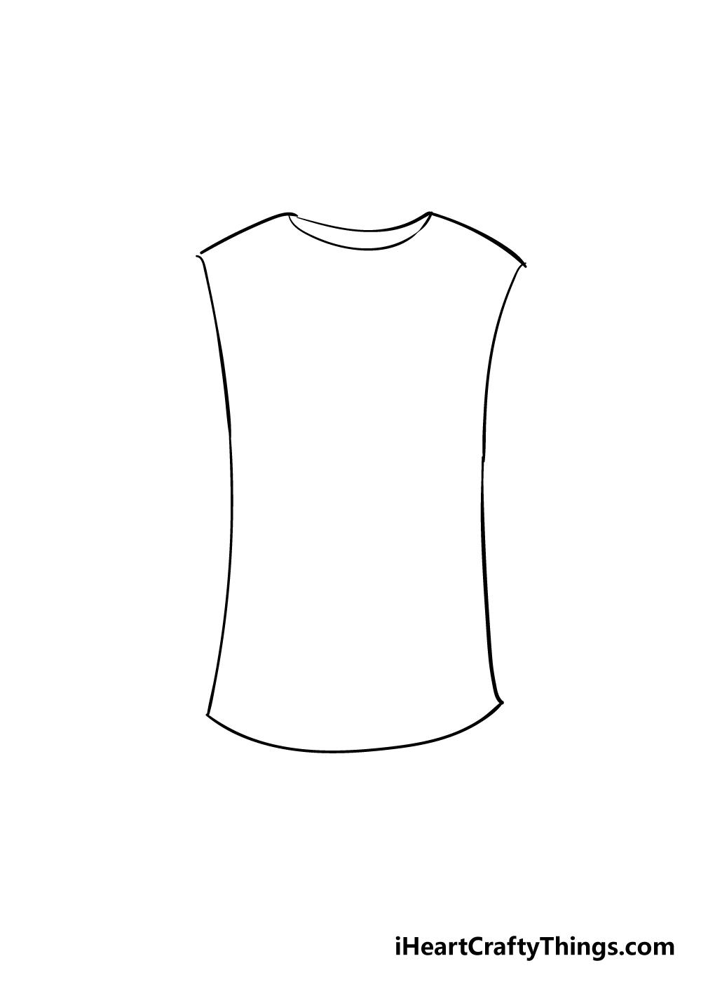 shirt drawing step 3