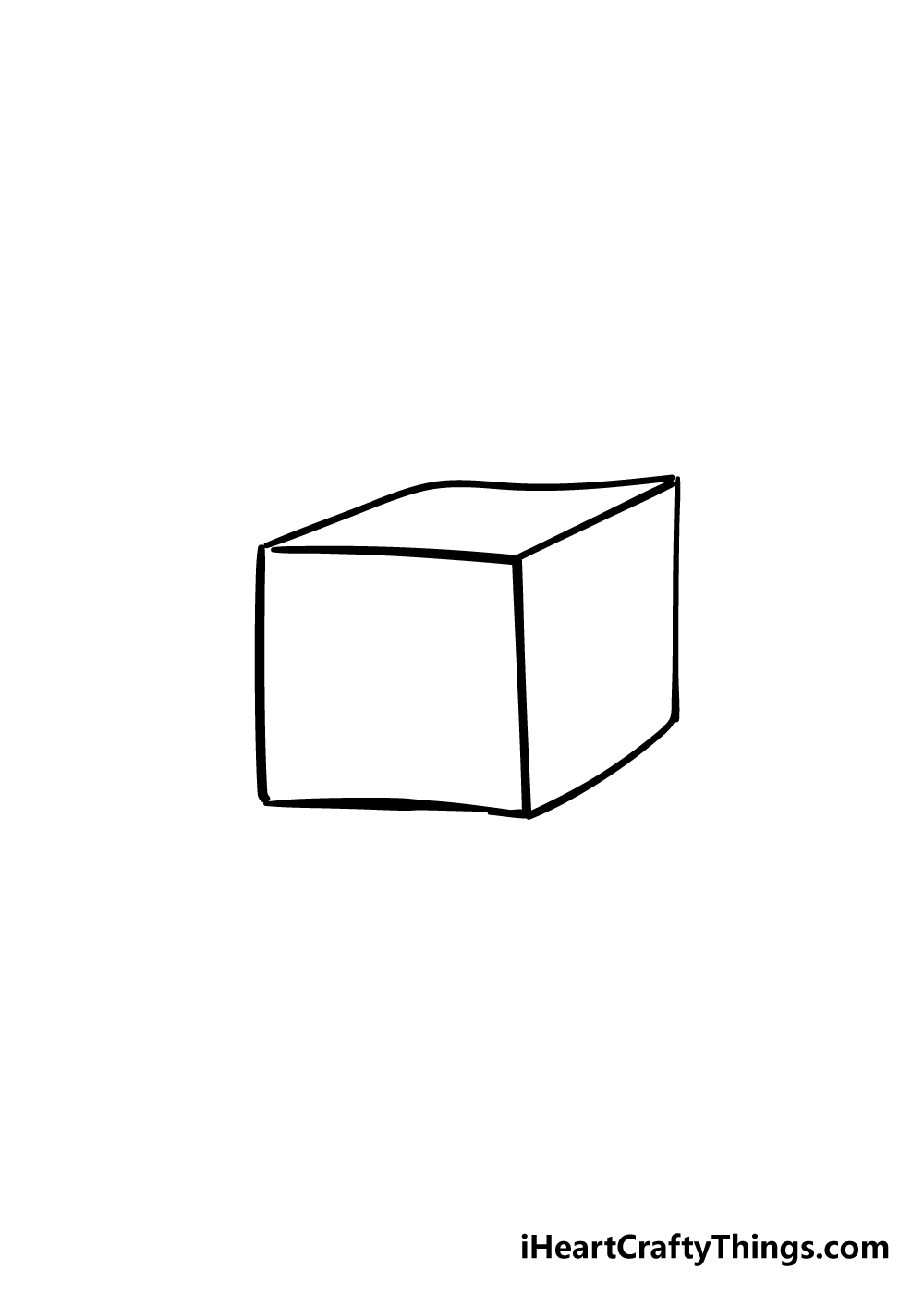 box drawing step 3