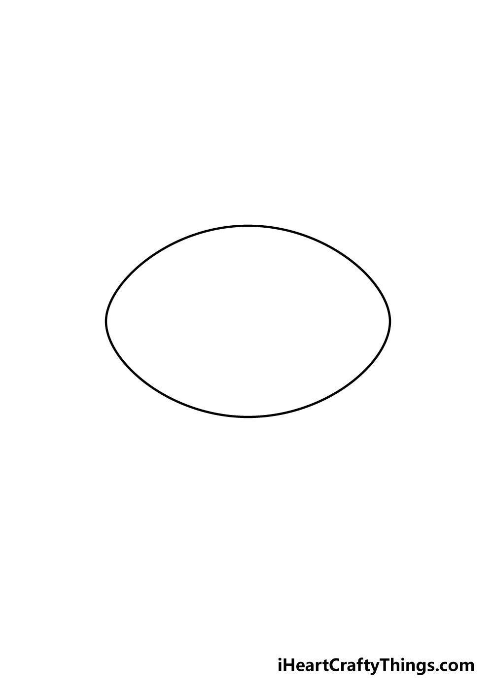 football drawing step 3