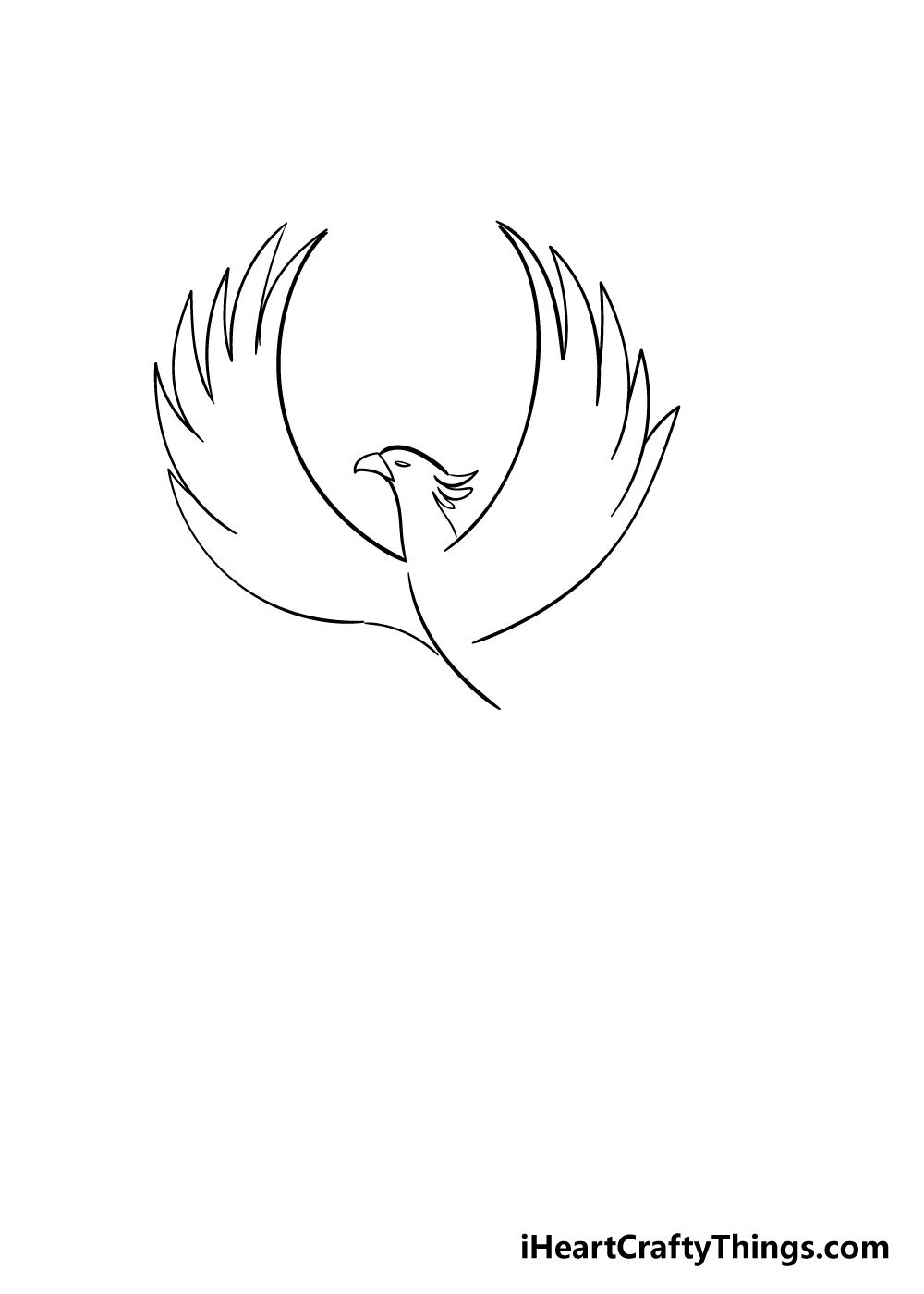 phoenix drawing step 3