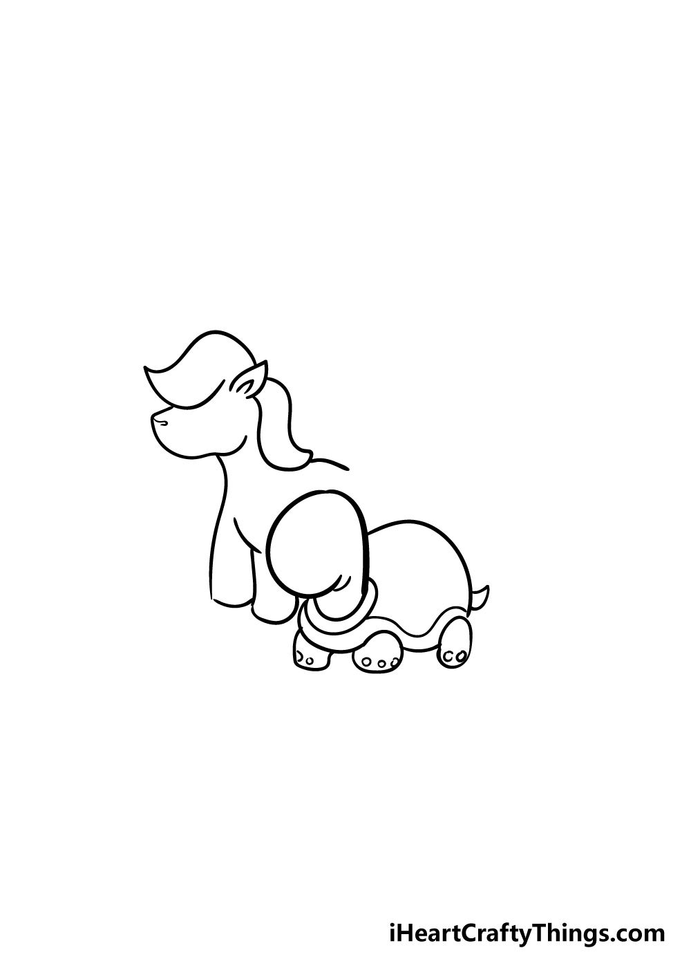 cute animals drawing step 4