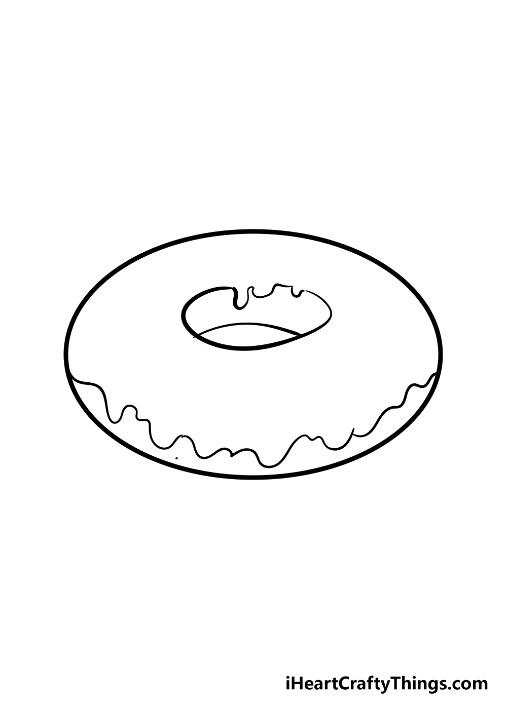 donut drawing step 4