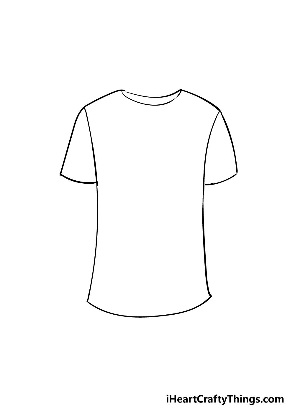 shirt drawing step 4
