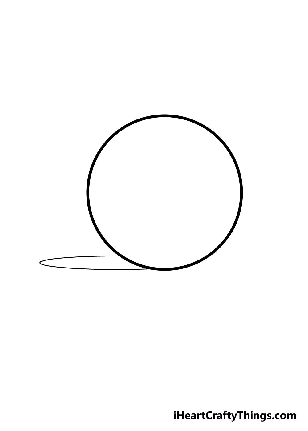 sphere drawing step 4