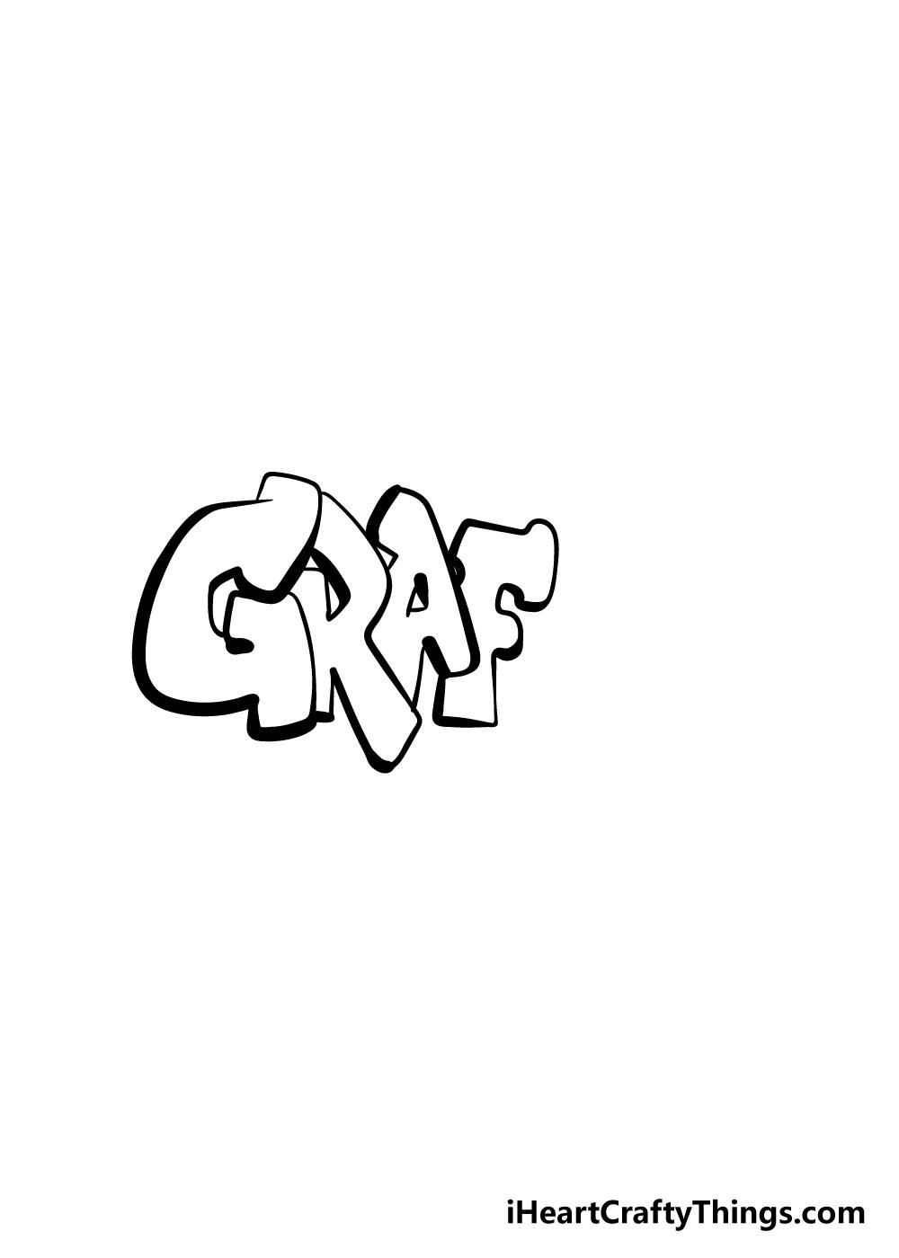 graffiti drawing step 4