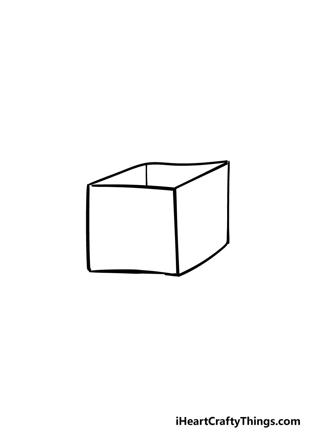 box drawing step 4