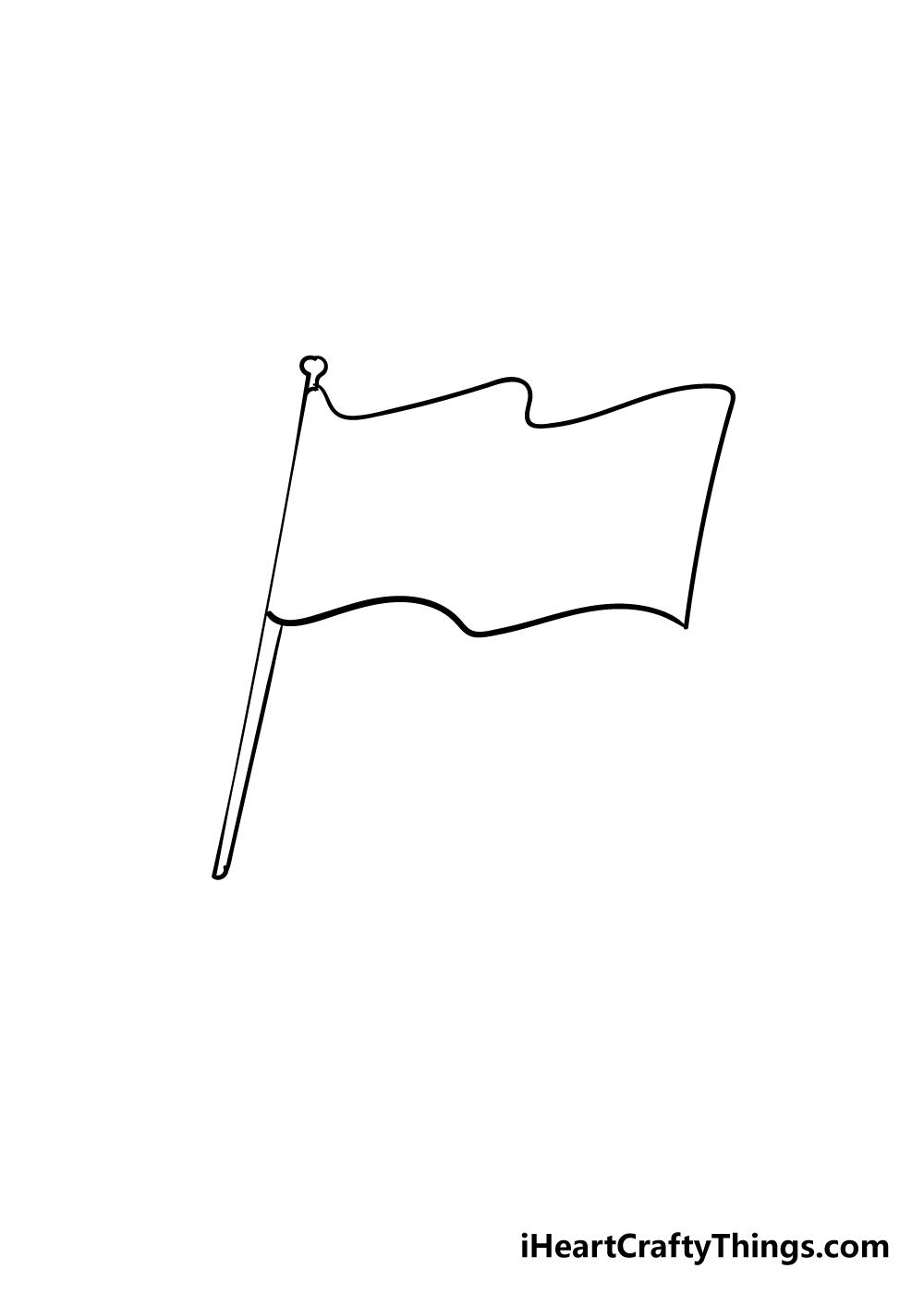 flag drawing step 4