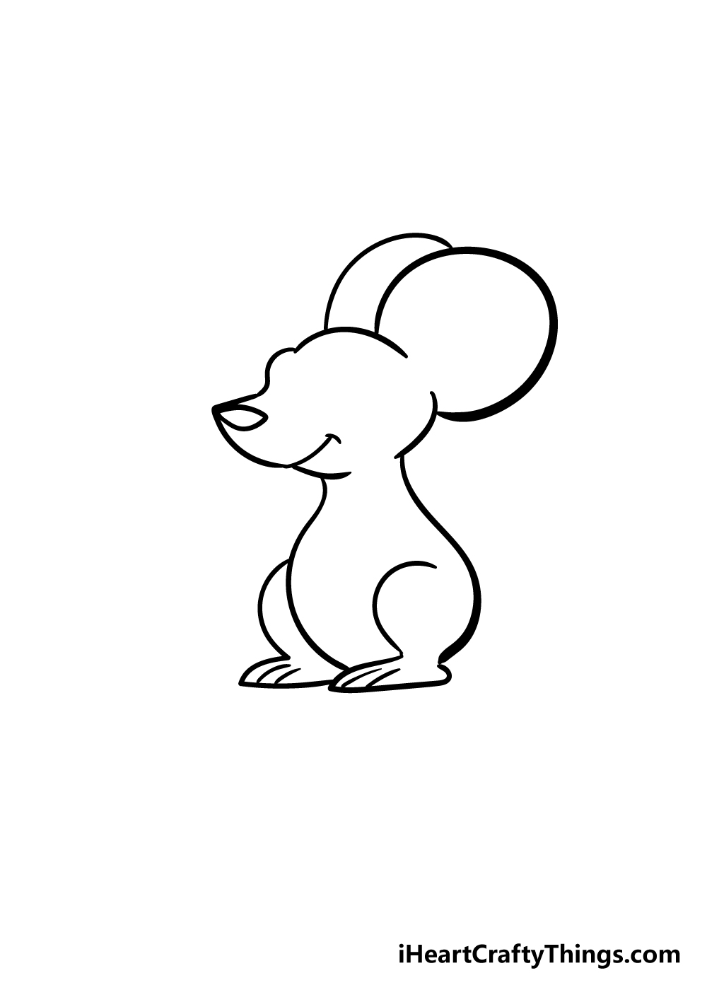 mouse drawing step 4