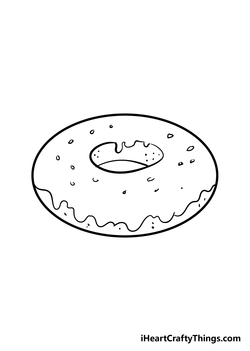 donut drawing step 5