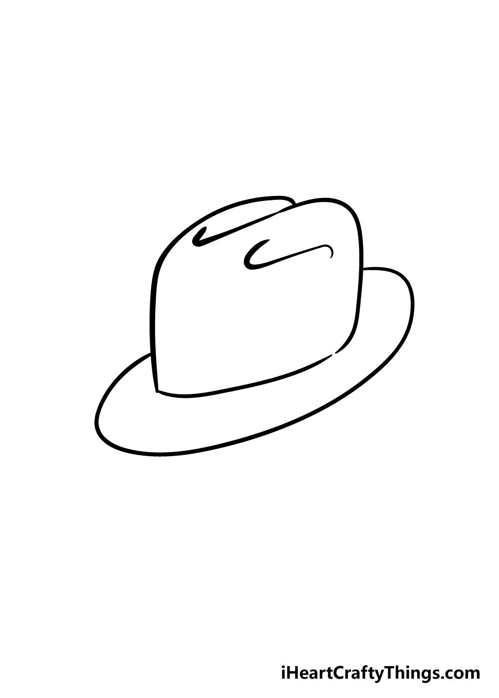 hat drawing step 5