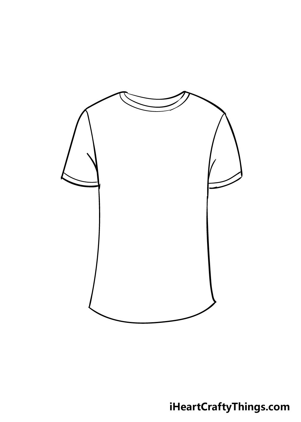 shirt drawing step 5