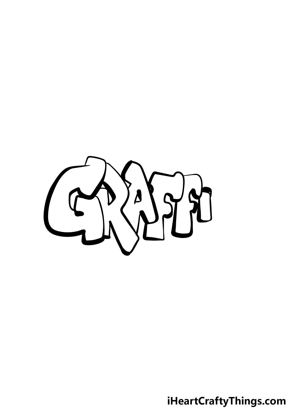 graffiti drawing step 5