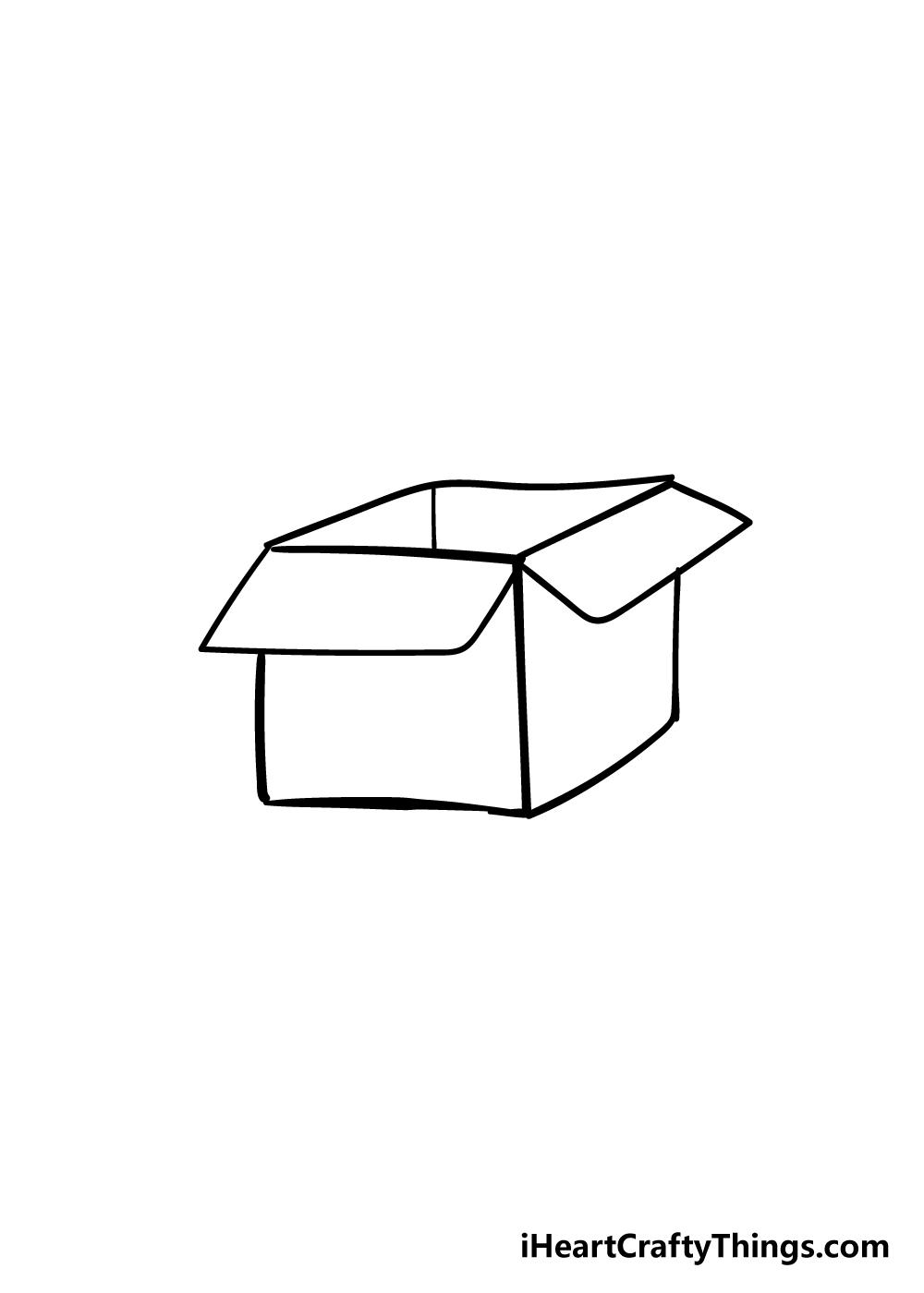 box drawing step 5