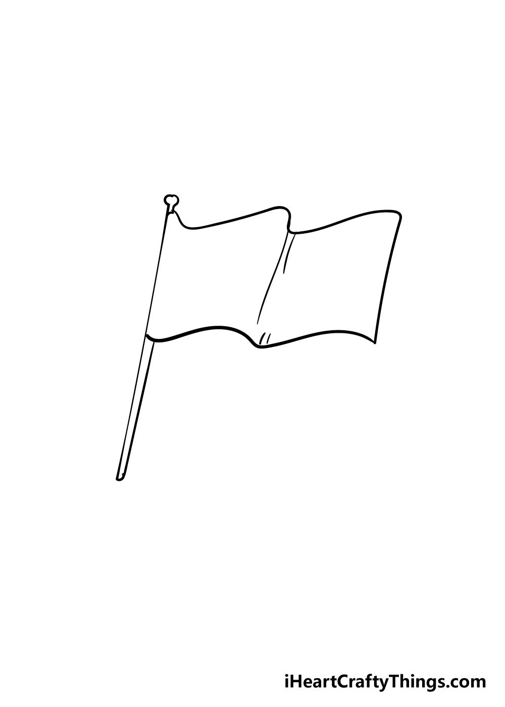 flag drawing step 5