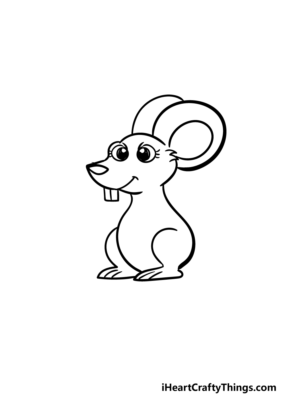 mouse drawing step 5