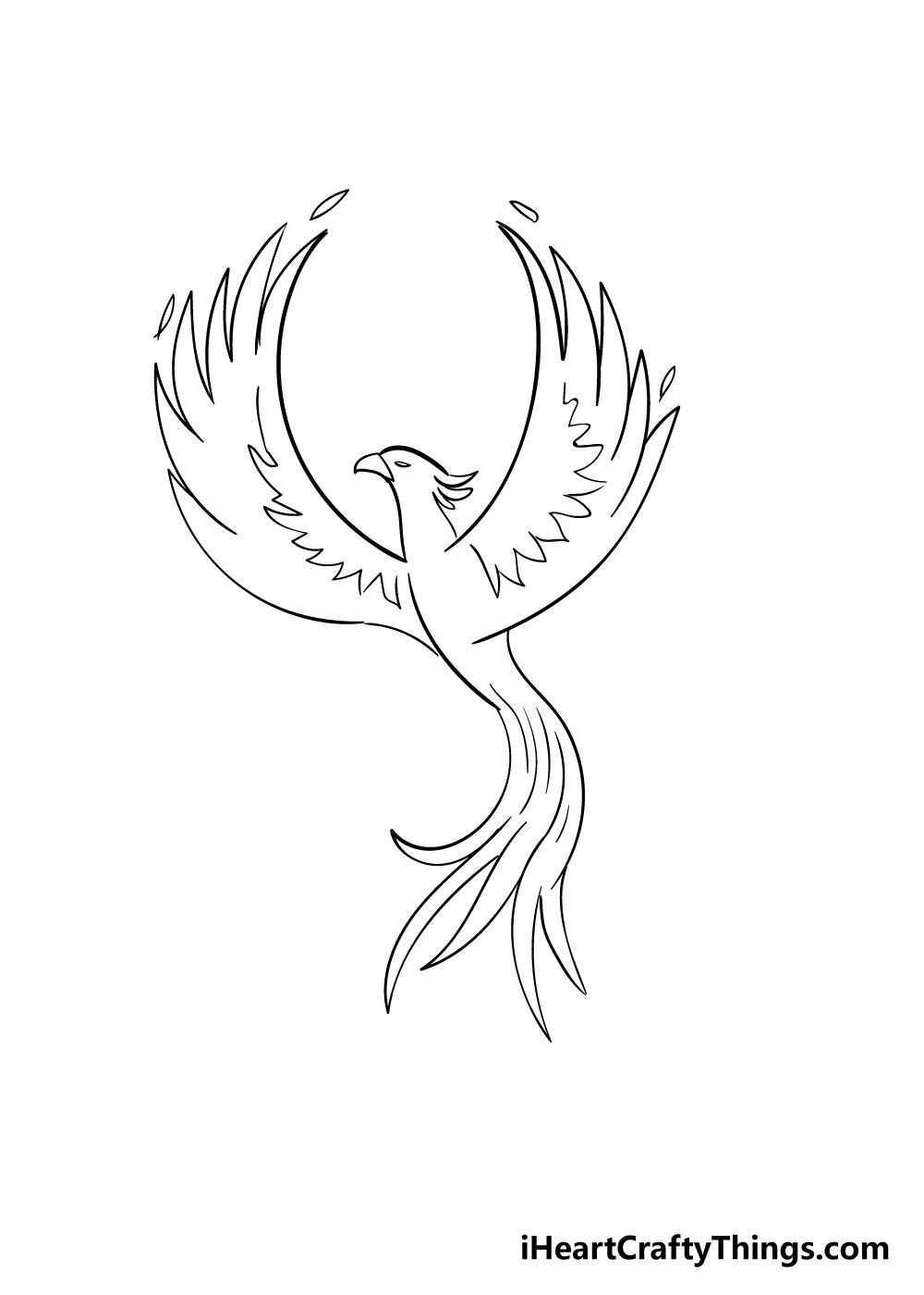 phoenix drawing step 5