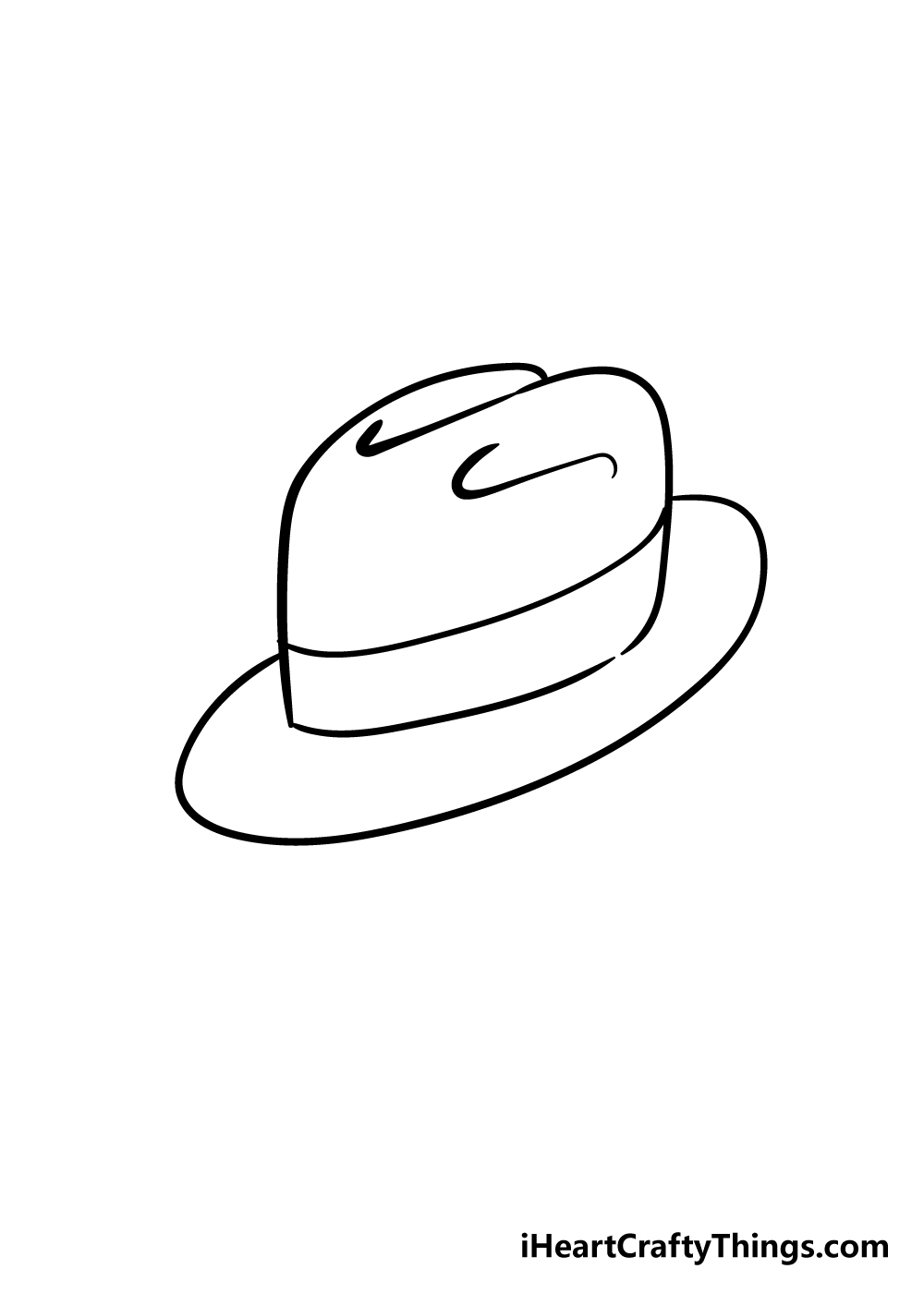 hat drawing step 6