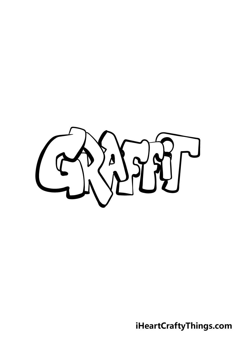 graffiti drawing step 6