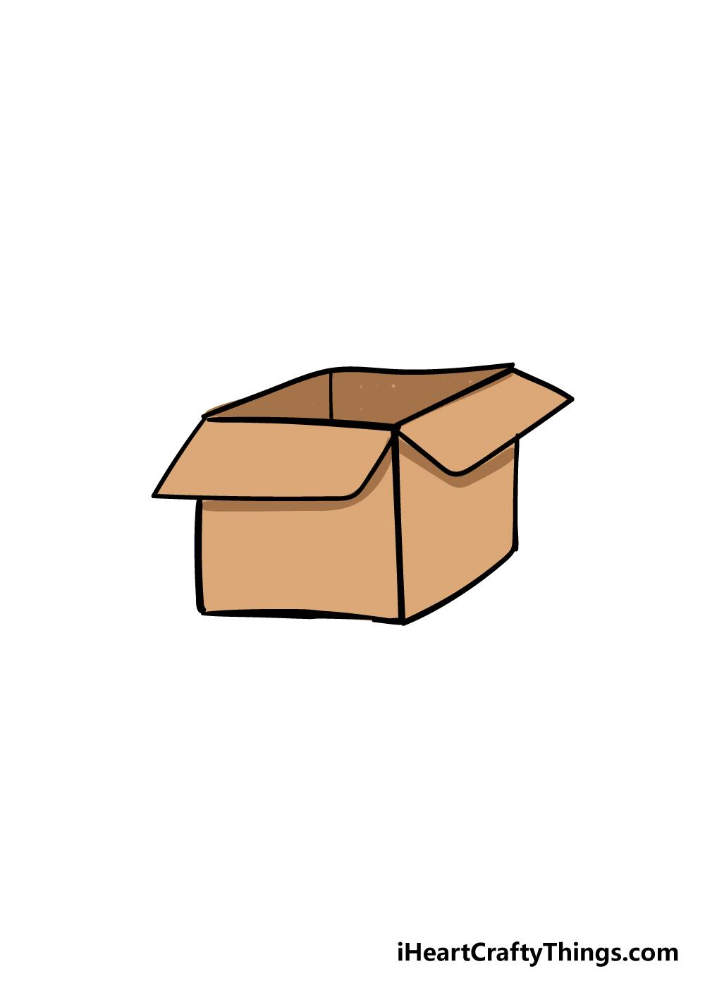 box drawing step 6