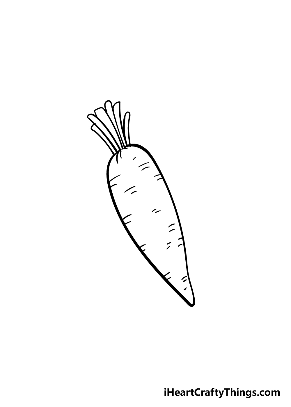 carrot drawing step 6