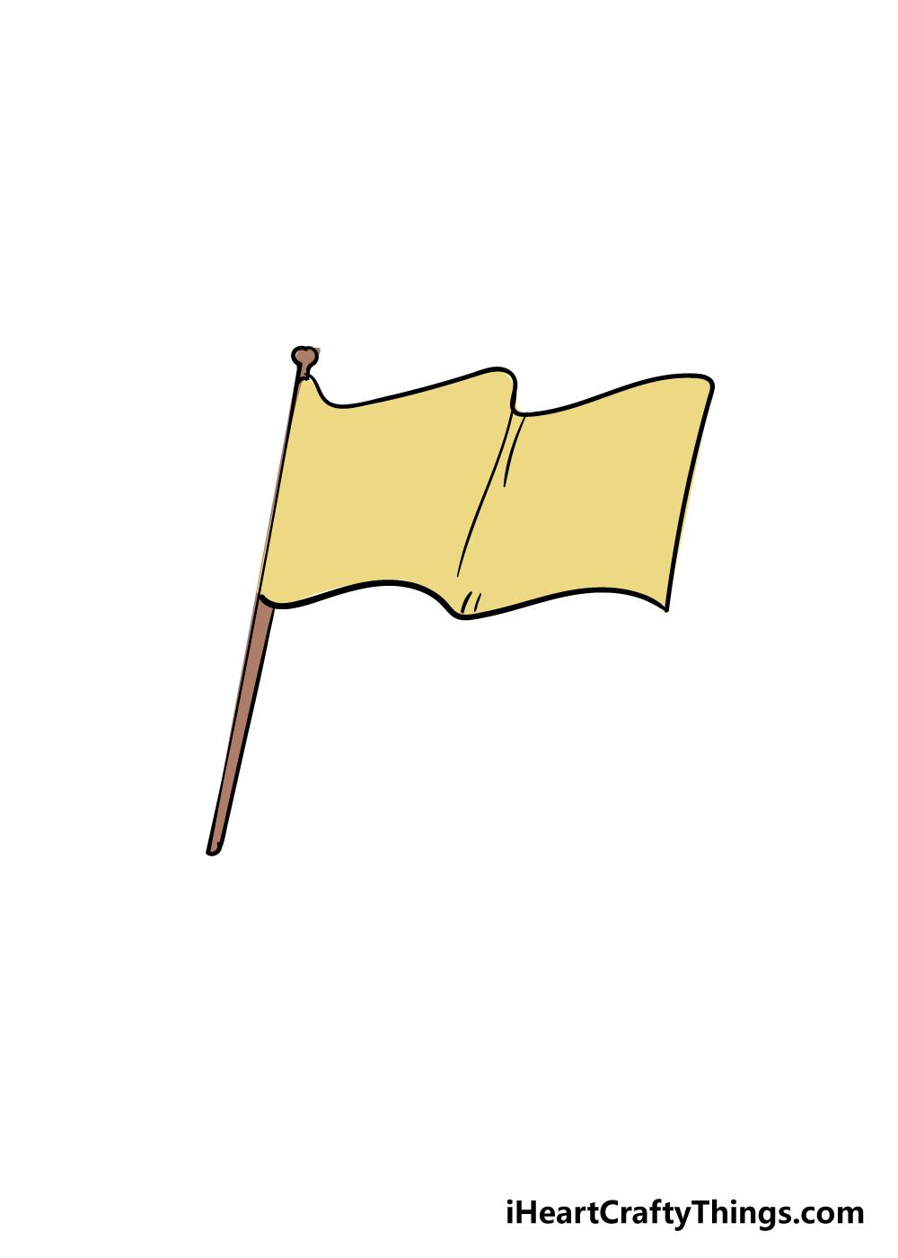 flag drawing step 6