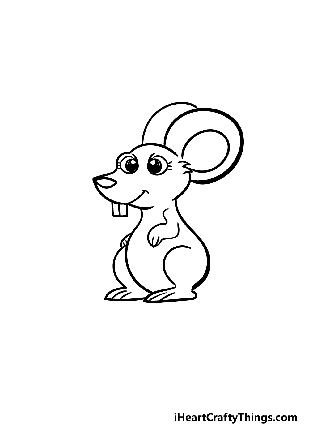 mouse drawing step 6