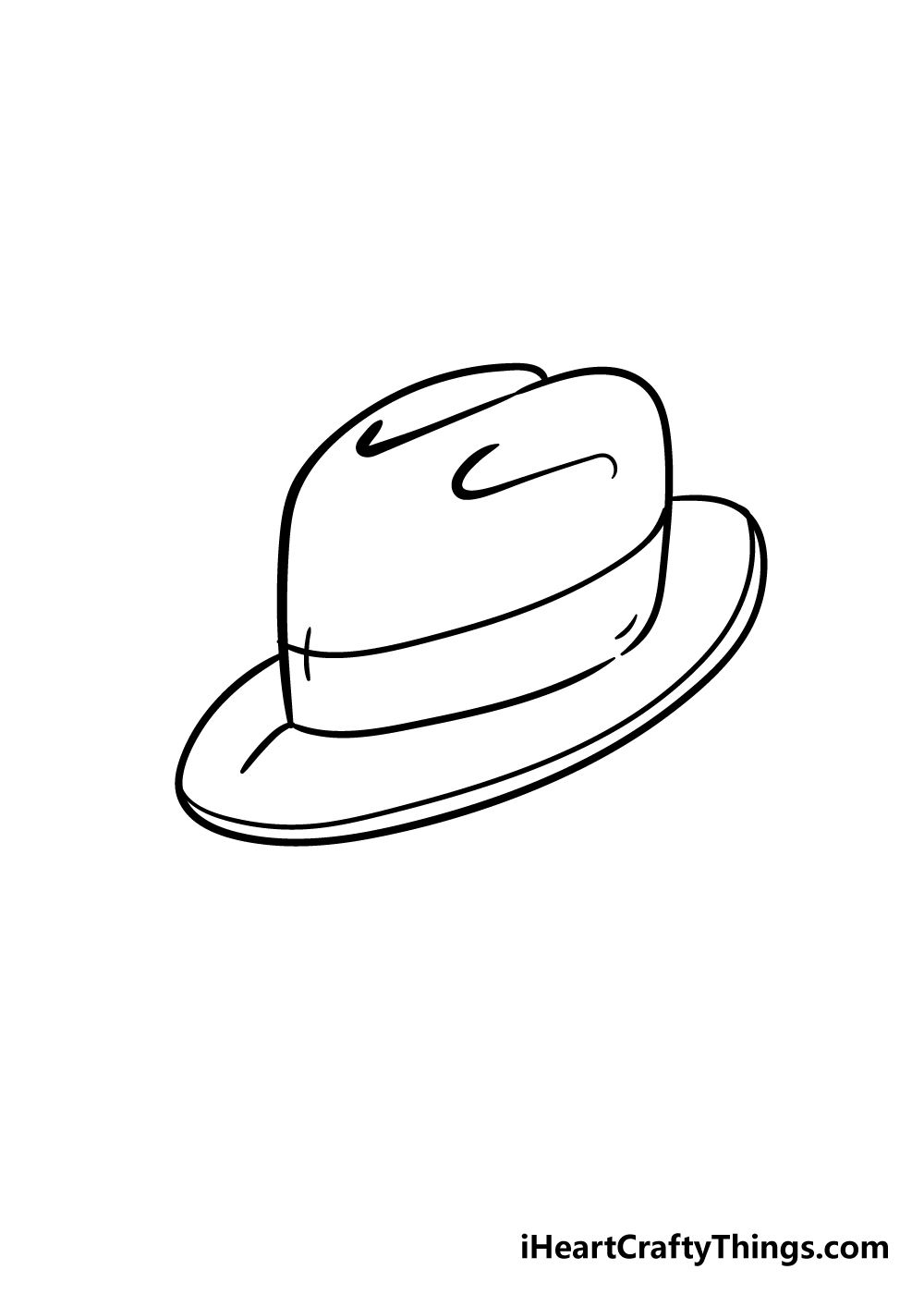 hat drawing step 7