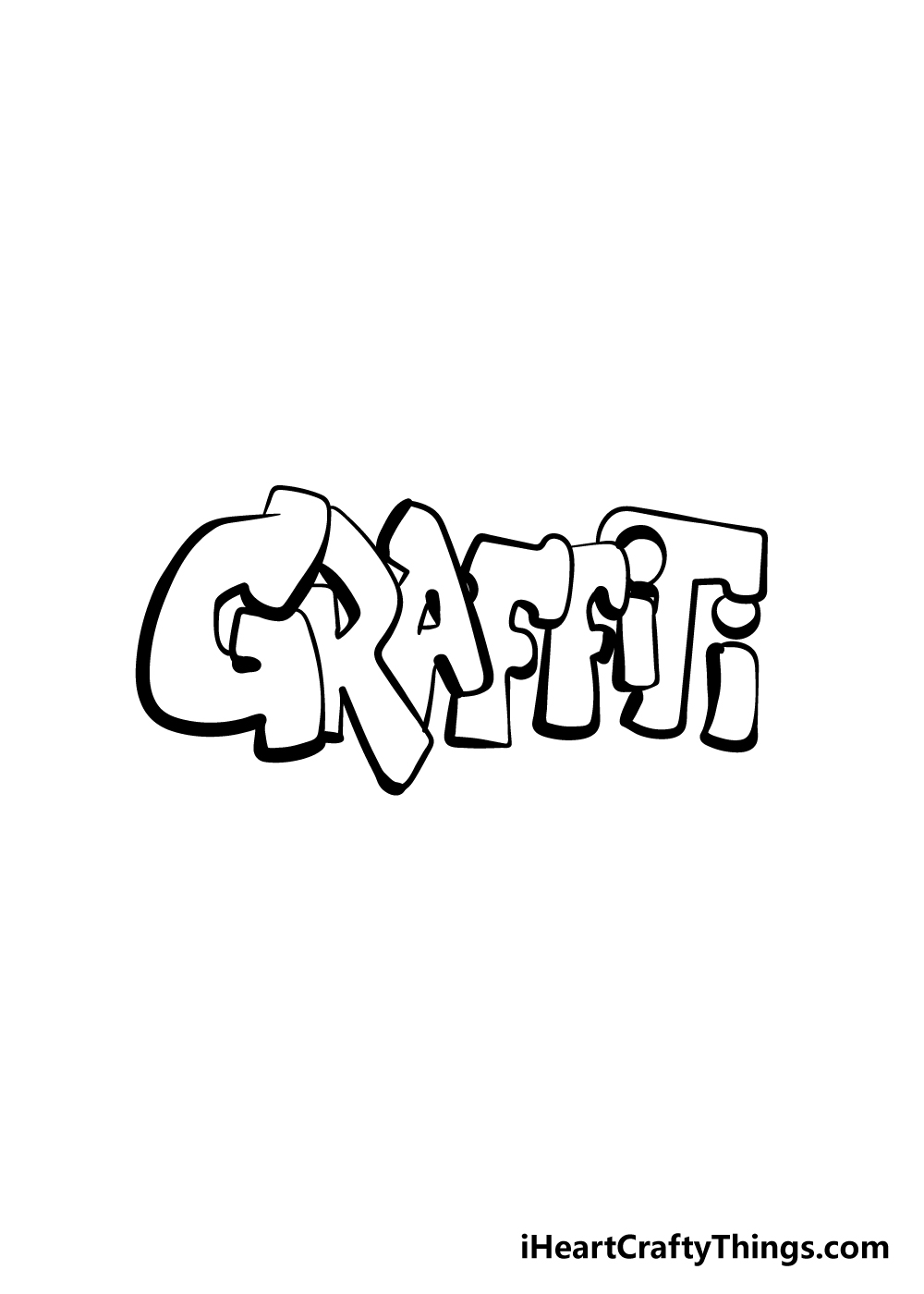 graffiti drawing step 7