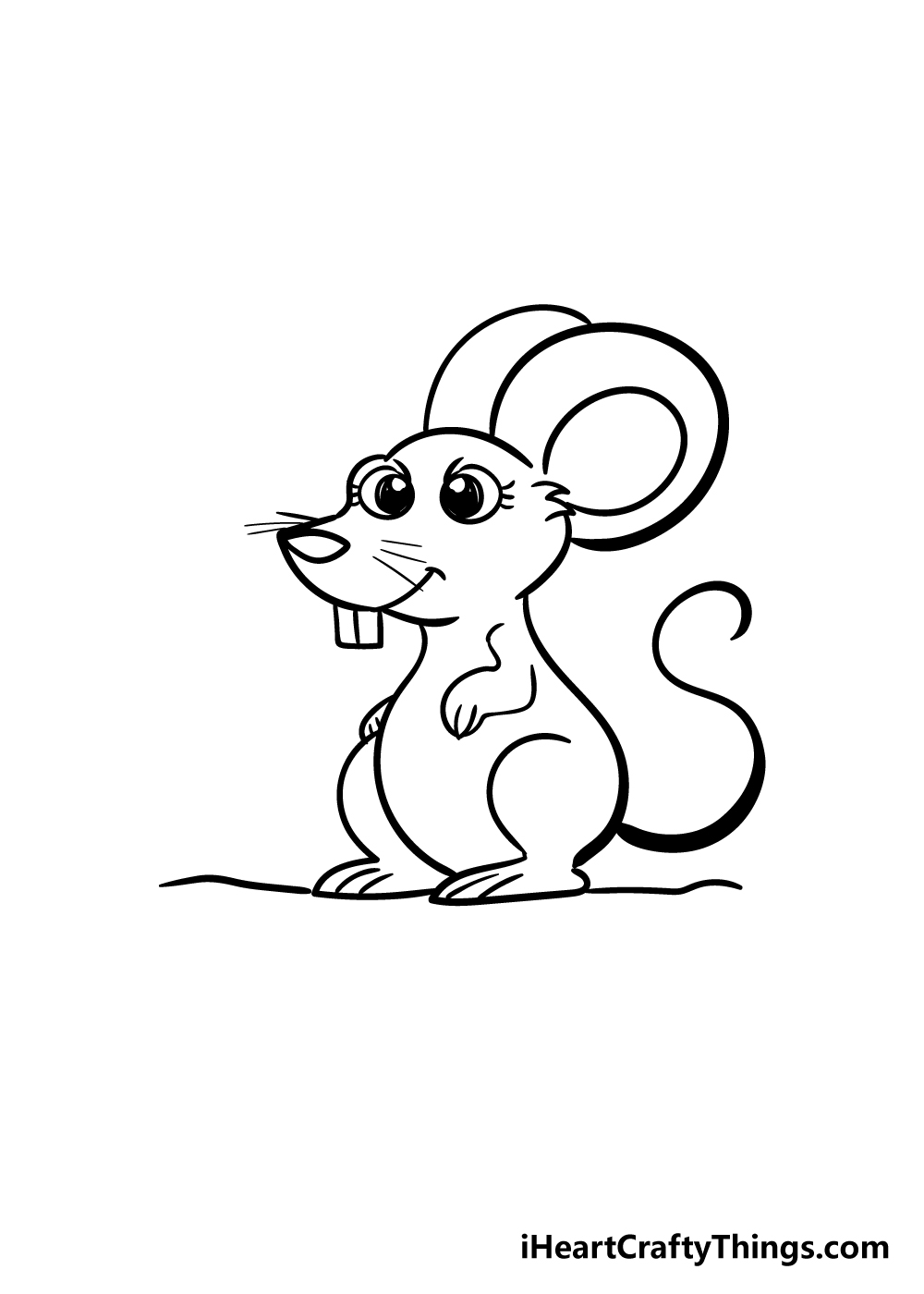 mouse drawing step 7