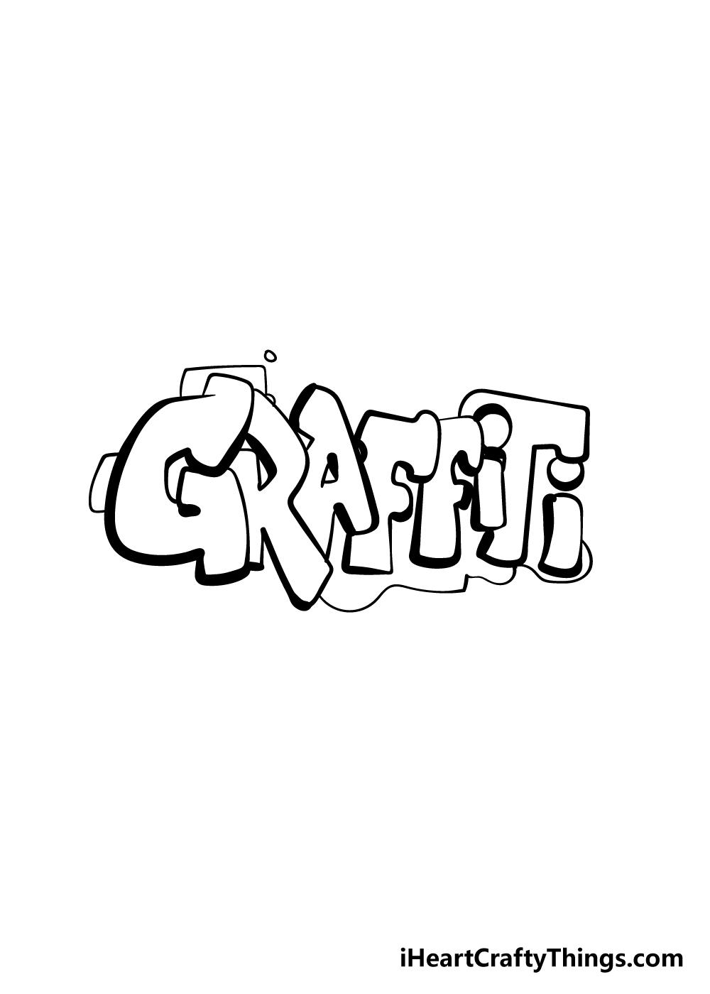 graffiti drawing step 9