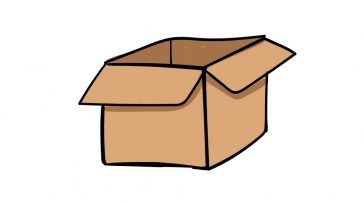 how to draw a box image