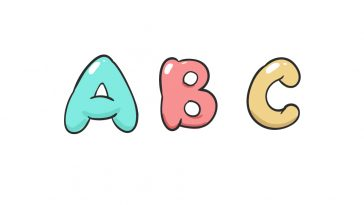 how to draw bubble letters image