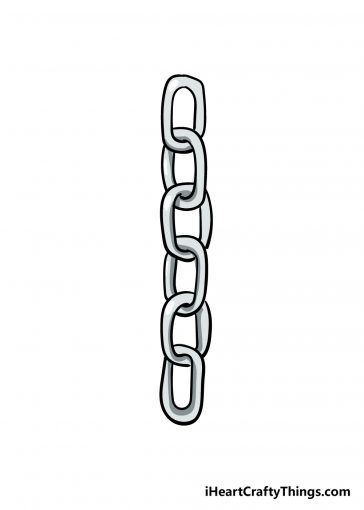 how to draw chains image