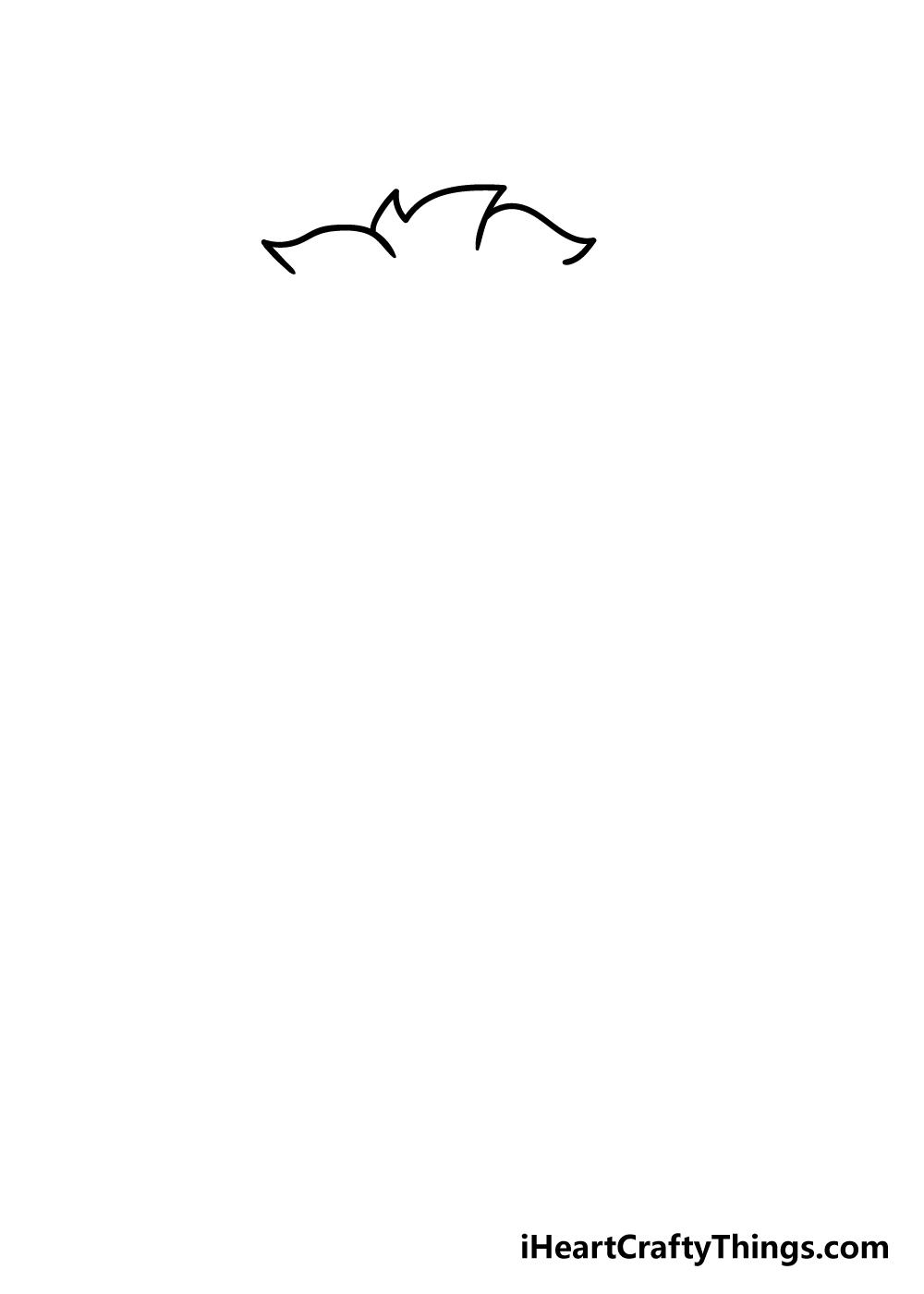 chibi drawing step 1