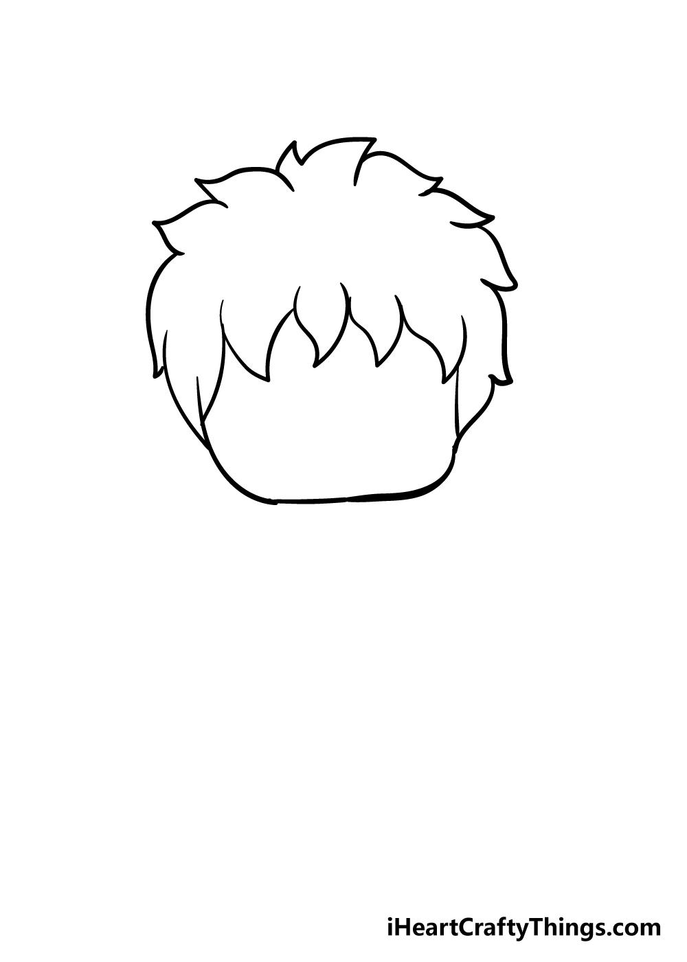 chibi drawing step 5
