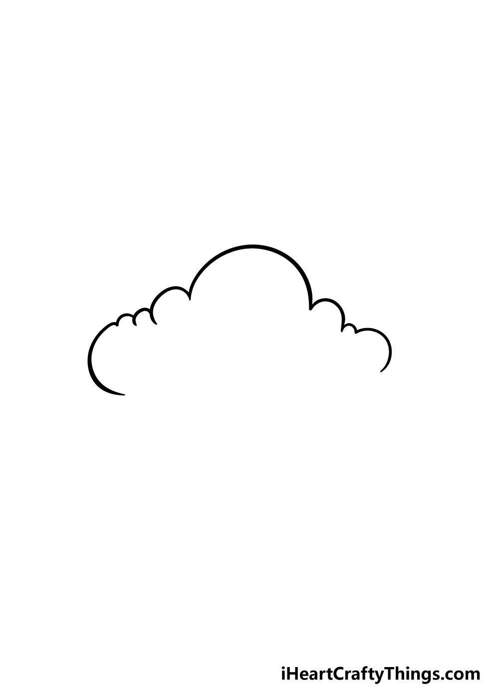cloud drawing step 3