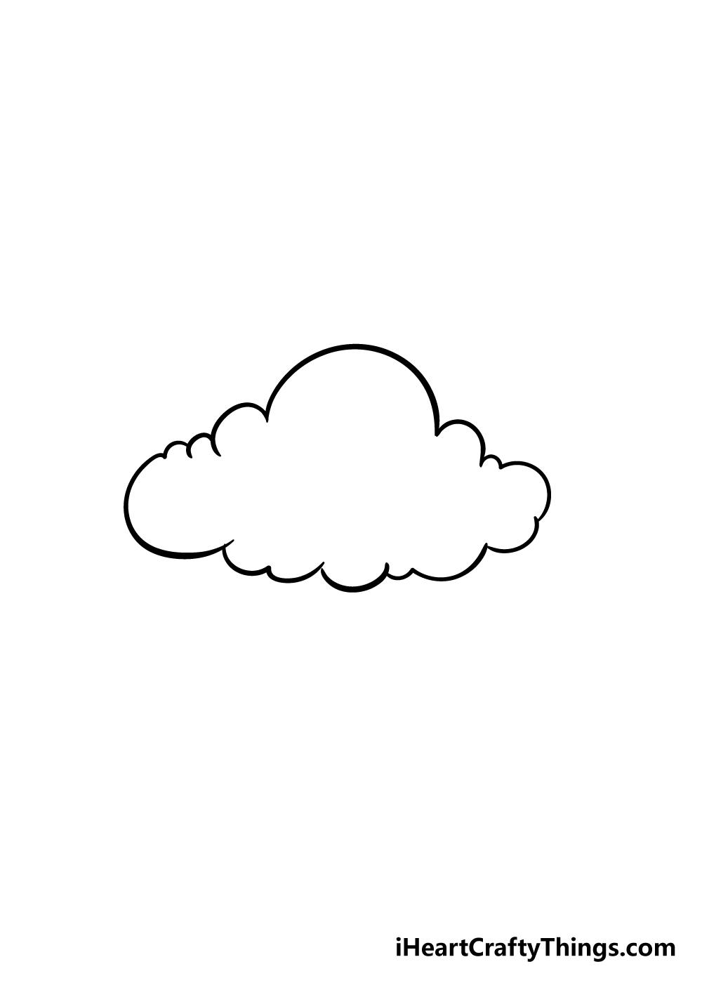 cloud drawing step 4
