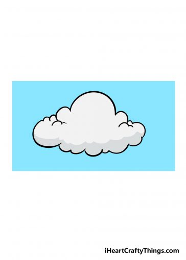 how to draw cloud image