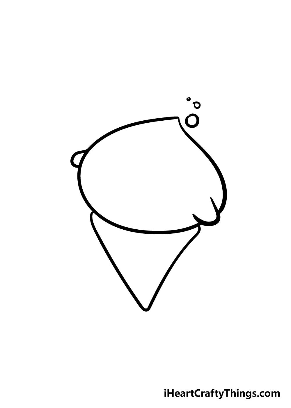 cute things drawing step 4