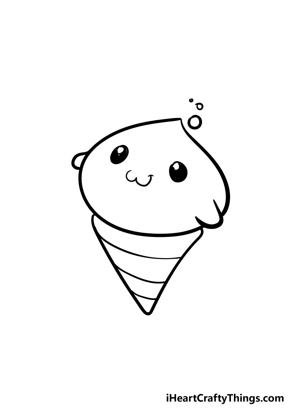 cute things drawing step 6